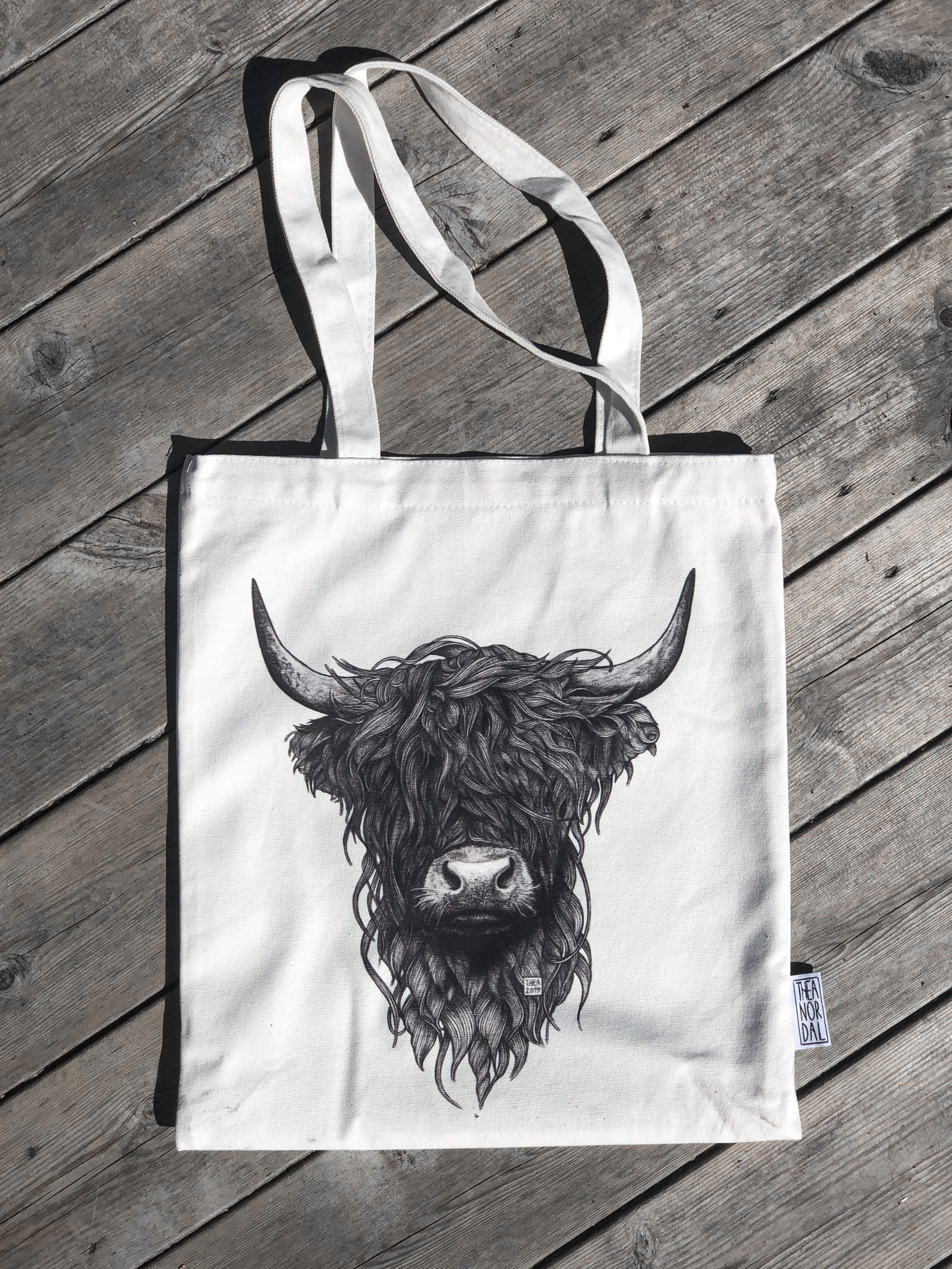 Tote bag Highland Cow