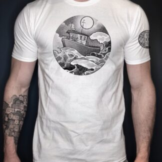 Skitt fiske t-shirt